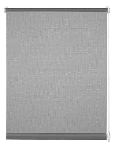 Gardinia Easyfix-Estor, Plástico, Tela, Gris Claro, 90 x 210 cm