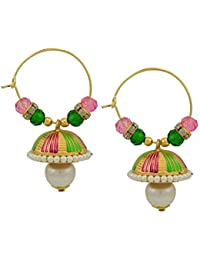 High Trendz Stylish Fancy Party Wear Gold Plated Hoop Earring For Women And Girls