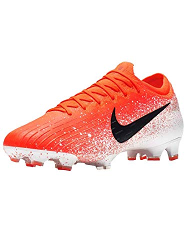 Nike Vapor 12 Elite Fg, Scarpe da Calcetto Indoor Unisex-Adulto, Multicolore (Hyper Crimson/Black/White 000), 43 EU