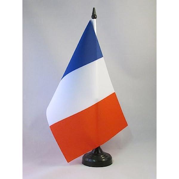 /Île-de-France 14 x 21 cm Petit Drapeaux DE Bureau d/épartement fran/çais AZ FLAG Drapeau de Table Val-de-Marne 21x14cm