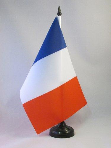 AZ FLAG Bandiera da Tavolo Francia 21x14cm - Piccola BANDIERINA Francese 14 x 21 cm