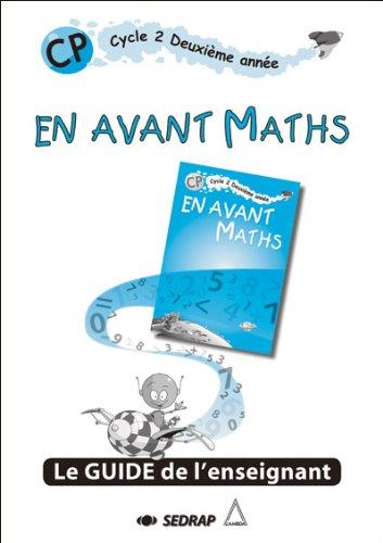 En avant maths CP CP (Le guide) par Lambda