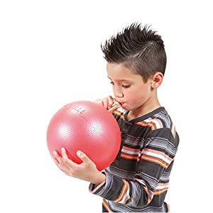 Overball 23cm BLAU ROT GELB PILATESBALL Gymnastikball, Yoga Übungsball, Yogaball, Soft Pilates, Therapieball, GYMNIC