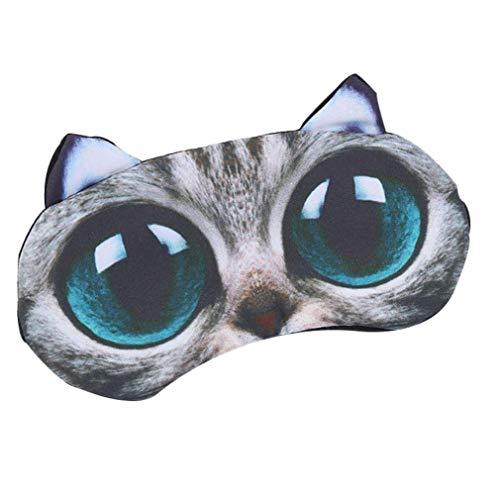 Kostüm Und Katze Schnelle Einfache - Bontand Shading Augenmaske Schlaf-Haar-Masken-Karikatur-Nette Katzen-Tier-Eis-Beutel Weiche