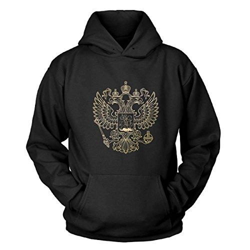 Russischer Adler Kapuzenpullover Size 2XL (Adler Pullover)