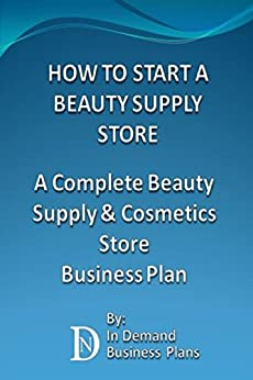 Business plan for online beauty supply store