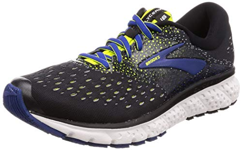 Brooks Glycerin 16, Scarpe da Running Uomo, Nero (Black/Lime/Blue 050), 43 EU