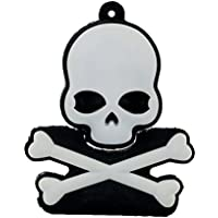 aneew 16GB pendrive Horror USB unidad Flash Memory Stick regalo de Halloween White Skull 16 gb