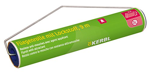 KERBL – AKO 299847 Stall-Fliegenrolle PHERoll mit Lockstoff, 9 mtr.