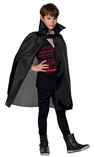 Boland 96924 - Umhang für Kinder, schwarz, ca. 75 cm