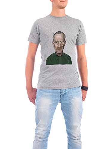 """Design T-Shirt Männer Continental Cotton """"Bryan Cranston"""" - stylisches Shirt Film von Rob Snow Grau"""