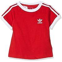 Adidas I Clfrn Camiseta, Unisex bebé, Rojo (Escarl/Blanco), 68