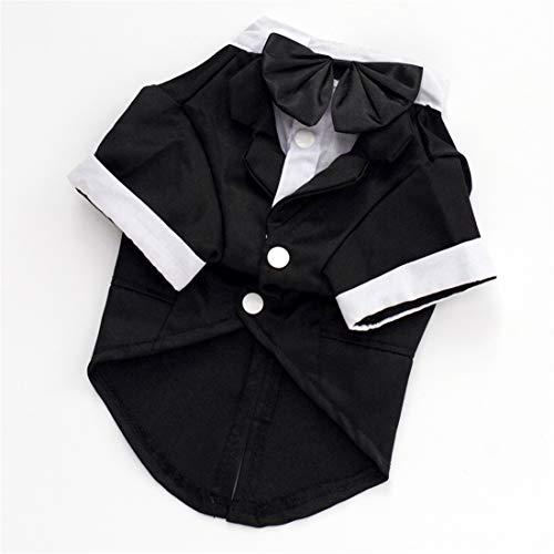 PZSSXDZW Explosion Pet Kleidung Haustieranzug Hochzeitskleid Teddy-Kleidung Hundebekleidung Black...