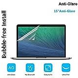 OJOS Matte Clear Anti-Fingerprint Screen Protector Guard for Apple MacBook Pro 15 Inch
