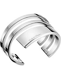 Calvin Klein Women Stainless Steel Bangle - KJ3UMF00010S