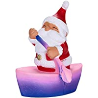 Wawer Squishies Galaxy Weihnachtsmann langsam steigende Creme duftende Squeeze Stressabbau PU Spielzeug