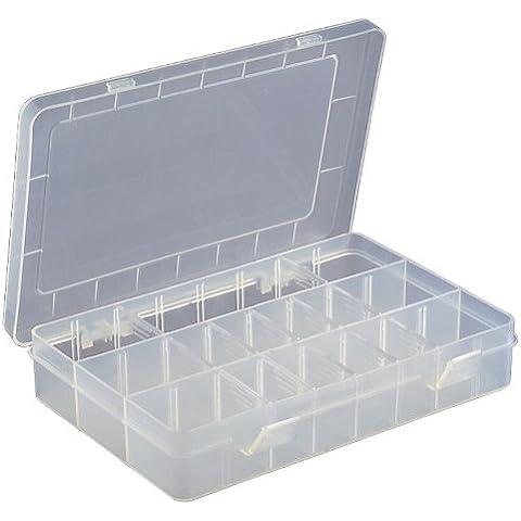 Unknown Motionperformance Essentials - Maletín con compartimentos para accesorios de herramientas (15 compartimentos, 41 x 200 x 145 mm), color
