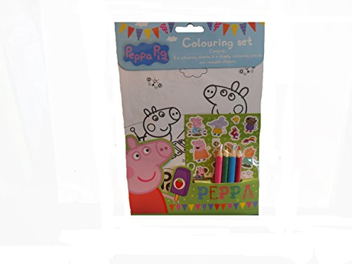 Anker PECST Peppa Pig Colouring Set