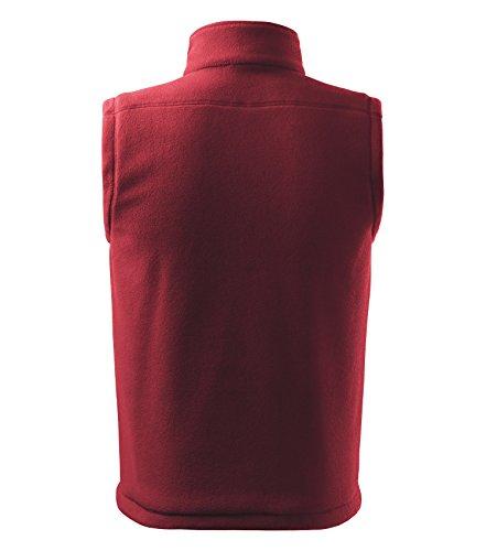 Damen und Herren Fleece Weste von Adler - Größe und Farbe wählbar - rot