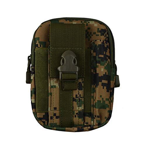 Mini-4s-fan (Cyfam Outdoor-Sport Lauftaschen, männliche Armee Fan Taktische Taschen Multifunktionsreittasche Gürtel Handytasche,jungledigital)