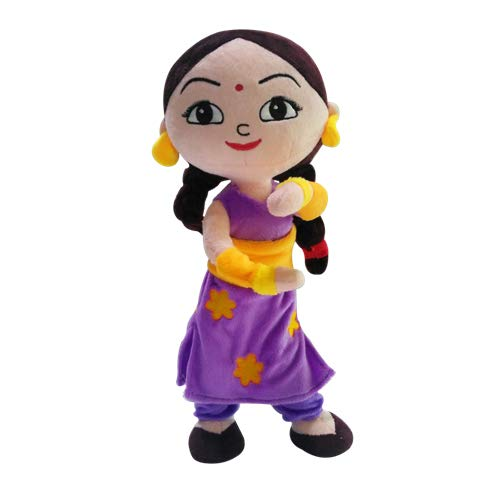 Chhota Bheem Kung Fu Chutki Action Plush - 33cm