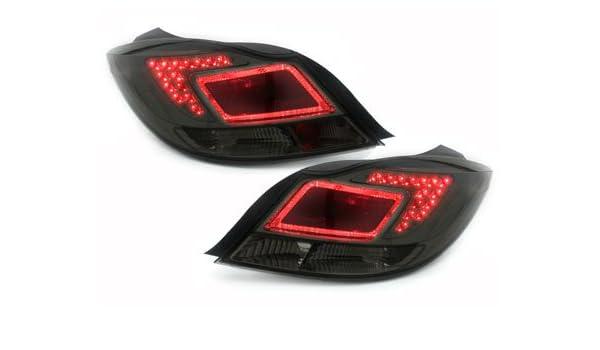 Carparts-Online 30766 LED R/ückleuchten rot klar