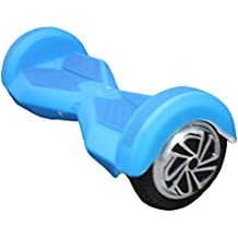 Feicuan Soft Carcasa de silicona protección Cover Shockproof Twist Car cubierta para 8 Inch 2 Ruedas Scooter de Auto-equilibrio -Blue