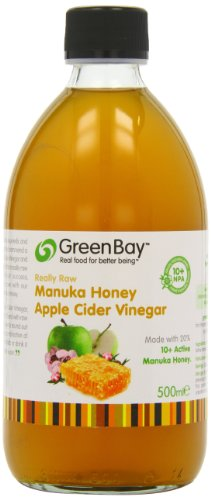 Harvest GreenBay Org vinaigre de cidre + 10 + 500 ml de Manuka