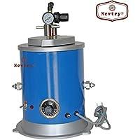 Newtry Inyector de cera redondo, herramienta de joyería, 110 V, 5.5 libras,