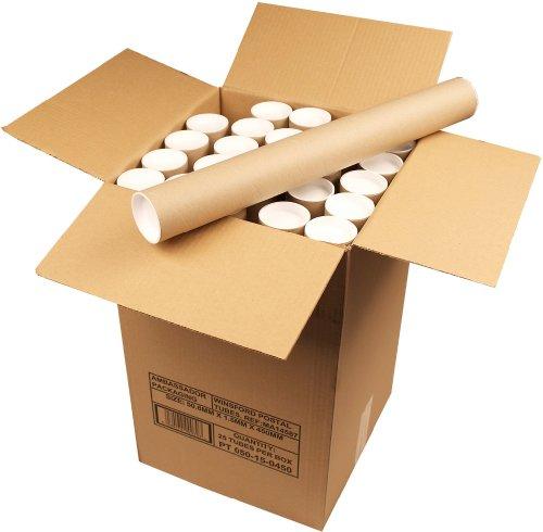 Ambassador Cardboard Postal Tube, 50mm diameter x 450mm (Box of 25) Test