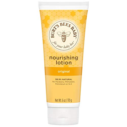 Burt's Bees Baby Original pflegende Lotion, 1er Pack (1 x 170 g)