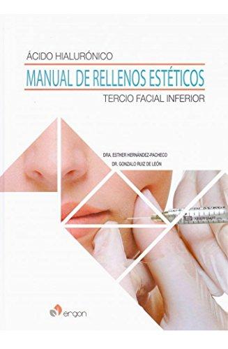 Descargar Libro Ácido hialurónico. Manual de rellenos estéticos Tercio facial inferior de Gonzalo Ruiz de León
