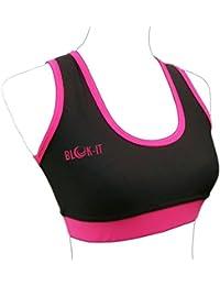 Blok-iT Sujetador Deportivo para Mujer, Correr, Gimnasio, Yoga, Deportes.