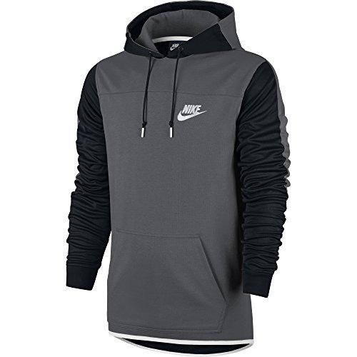 Nike M Nsw Av15 Hoodie Po Flc - Sweatshirt Herren, Farbe Grau, Größe L