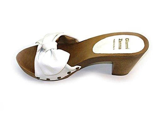 Lince, Mules pour Femme Blanc
