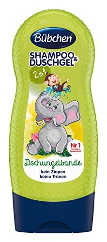 Bübchen Dschungelbande Shampoo und Shower, 1er Pack (1 x 230 ml)