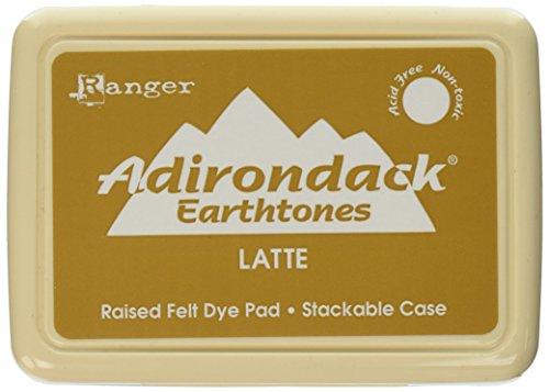 Ranger Adirondack-Stempelkissen Latte, braun