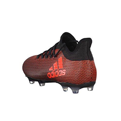 adidas Herren X 17.2 FG Fußballschuhe Schwarz (Negbas/Rojsol/Narsol)