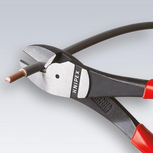 Knipex-74-02-160-Pince-coupante-de-ct–forte-dmultiplication-avec-poignes-confortables-bi-matire