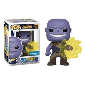 Funko POP Marvel EXCLUSIVE Avengers Infinity War Movie Thanos Using Infinity Gauntlet Collectible Figure