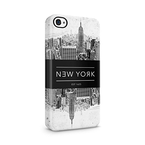 New York City Cover Plastic Phone Case Cover Shell For iPhone 4, 4S Custodia