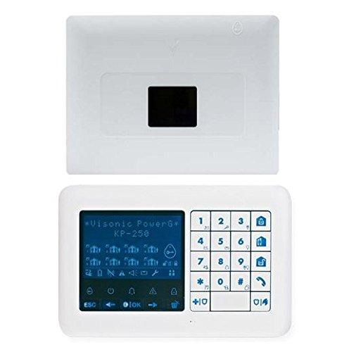 Visonic, 0-103725-kp250, powermaster-33EXP G2Inc kp-250PG22-way tastiera