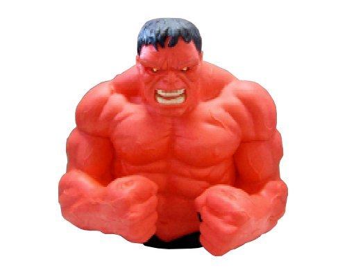 Marvel Banque de Buste Rouge Hulk Action Figures