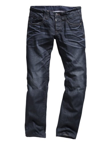 "Timezone Herren Jeans Normaler Bund Pierro ""3115 toweled wash"" 26-5406 toweled wash (3115)"