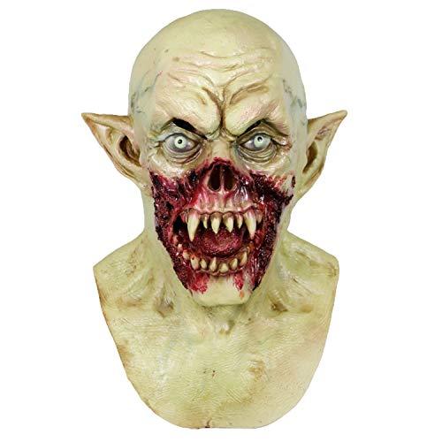 Molezu Vampire Mask Scary Kurten Monster Mask Halloween