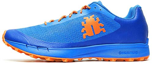 Icebug - Zapatillas Oribi M Rb9X Para Trail Running , Color Azul/Naranja, 42