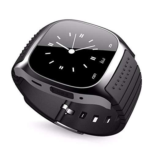 Zinniaya M26 Smartwatch da Polso Impermeabile contapassi Smartwatch Chiamata Risposta Lettore Musicale Telecamera remota per Telefono Android