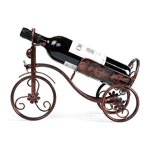 Haushalt Wein Tasse Rack europäischen Stil hohes Glas kopfüber Rotwein Rack kreative hängende Bar hängende Tasse Rack, Fahrrad Rotwein Frame Bronze