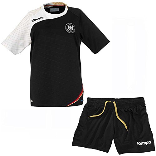 Kempa Handball WM DHB Deutschland Trikot Shorts Set Kinder & Herren, Grösse:L