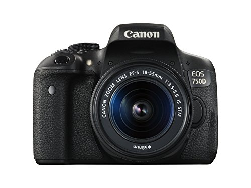 Canon EOS 750D Digital SLR Camera with 18-55 mm Lens